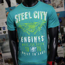 Car Bike Engines Made for Speed Need Express 1976 Mechanic Biker Road Tshirt S S Photo