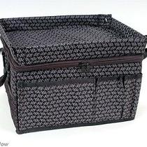Car Travel Bag Front Seat Organizer Multi-Purpose Avon Black Handles Strap 19645 Photo