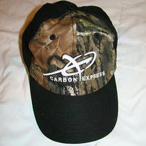 Carbon Express Arrows Hunting Fishing Hat Cap Euc Archery  Maxima Blue Streak Photo