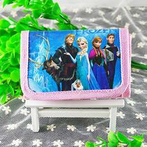 Card Holder Disney Cartoon Fantasy Frozen Purses Wallets Children Gifts Qb-105 Photo