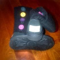 Cardy Ugg Boots - Colored Buttons - Kids Size 11 - Excellent Used Condition Photo