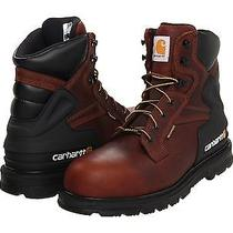 Carhartt 9 1/2 Steel Toe Boot Insulated Waterproof Safety 6