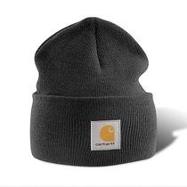 Carhartt A18 Acrylic Watch Hat - Black Photo