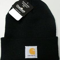 Carhartt A18 Acrylic Watch Hat (Black) New Photo