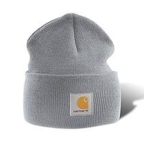 Carhartt A18 Acrylic Watch Hat - Heather Grey Photo