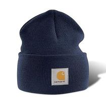 Carhartt A18 Acrylic Watch Hat - Navy Photo