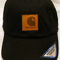 Carhartt A199 Workflex Ear-Flap Cap - Black - L/xl Photo