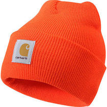 Carhartt Acrylic Watch Hat  Black/orange Photo