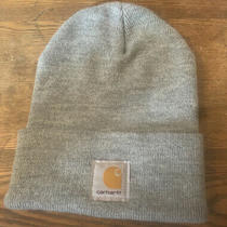 Carhartt Beanie- Gray- One Size Fits All Photo