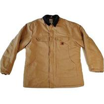 Carhartt C003 Mens Xlt Brown Traditional Arctic Quilt-Lined Coat Jacket Photo