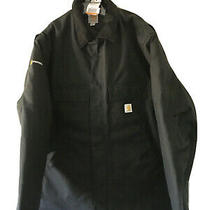 Carhartt C55 Blk Black Extreme Arctic Quilt Lined Winter Coat Size 2xl Tall Photo