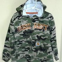 Carhartt Camouflage Camo Hoodie Children's Size 5 Photo