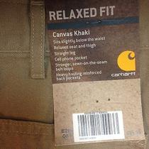 Carhartt Canvas Khaki Relaxed Fit Photo