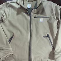 Carhartt Crowley Mens Sz L Brown Full Zip Jacket Large 101299 908 Euc Photo