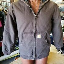 Carhartt Dark Brown Youth Jacket Xl (18-20)  Photo