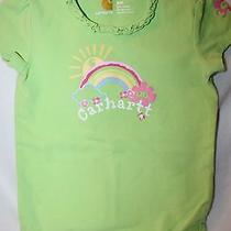 Carhartt Girl's Green Onesie T-Shirt---24 Months Photo