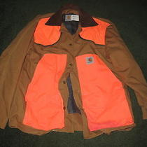 Carhartt Hunting Jacket Removable Wool Liner and Game Bag Xl Photo