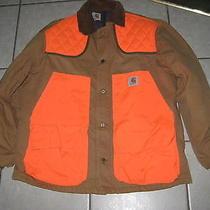 Carhartt Hunting Jacket Wool Lining Game Bag Size Lrg Photo