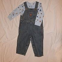 Carhartt Infant's Denim Overalls Set Photo