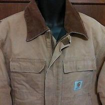 Carhartt Insulated Quilt Lined Work Farm Barn Coat Jacket Photo