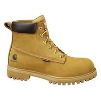 Carhartt Insulated Waterproof Leather Work Boot Men's Size 10.5 Cmw6202 Photo