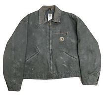Carhartt Jacket Size Xxl Moss Green Flannel Blanket Lined J97 Mos Photo