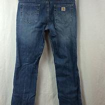 Carhartt Jeans for Women Modern Fit Straight Leg 32x32 Stretch Wb018 Photo