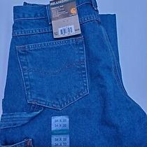 Carhartt Jeans Size 34x32 New With Tags  Photo