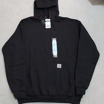 Carhartt K121 Black Hoodie Sweatshirt  Size Medium  Nwt  Free Shipping Photo