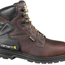 Carhartt Leather Boots Litefire Insulation Vibram Outsole Tpu Ortholite 10.5 Photo
