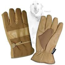 Carhartt Leather Cowhide Palm-Insulated Duck Work Gloves Men Large or Xl Photo
