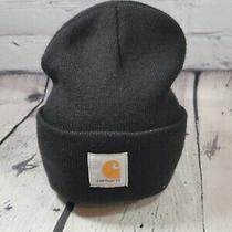 Carhartt Men's Acrylic Watch Hat A18 Black One Size Black Size One Size  Photo
