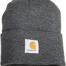 Carhartt Men's Acrylic Watch Hat Coal Heather Free 2 Day Ship  Photo