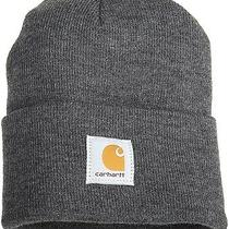 Carhartt Men's Acrylic Watch Hat Coal Heather One Size Photo