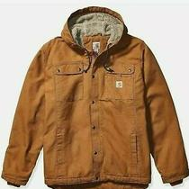 Carhartt Men's  Bartett Jacket Large Brown Sty 103826 New Photo