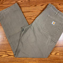 Carhartt Men's Cargo Work Pants  Relaxed Fit Size 40 X 34 Rn 14806  Photo