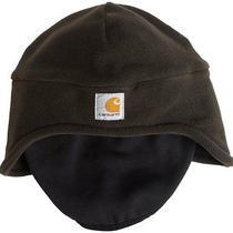 Carhartt Men's Fleece 2-in-1 Headwear Hat Pull Down Face Mask Free 2 Day Ship Photo
