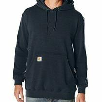 Carhartt Men's Midweight Hooded Sweatshirtnew Navylarge New Navy Size Large Photo