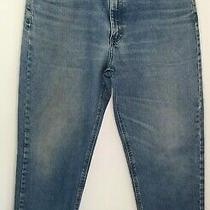 Carhartt Men's Relaxed Fit Jeans Blue B17 Dst Size 36x32 Photo