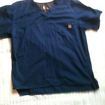Carhartt Men's Solid Size L Navy Blue Photo