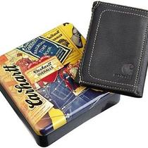 Carhartt Men's Trifold Leather Durable Wallet Hunting Camping Outdoor Black Photo