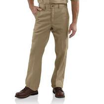 Carhartt Men's Twill Work Pants Beige Khacki Size 46