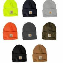 Carhartt Mens Acrylic Watch Beanie Winter Knit Beanie Cap/hat Knitted Hat Photo