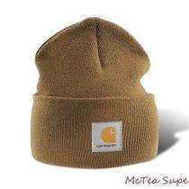 Carhartt Mens Acrylic Watch Hat A18 Brown Beanie Cap in Stock Ready to Ship Photo
