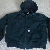 Carhartt Mens Black Jacket - Mens Size Medium Photo