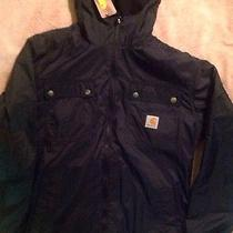 Carhartt Mens Jacket Small Regular Water Resistant Rn14806 Photo