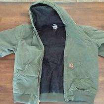 Carhartt  Mens Men's Green With Hood.   Large Tall Photo