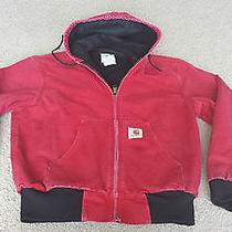 Carhartt Mens Red Jacket - Mens Size Small Photo