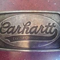 Carhartt Metal Belt Buckle Photo
