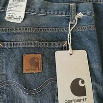 Carhartt Nwt Texas Pants Ii Blue Denim Jeans W38 X L32 Photo